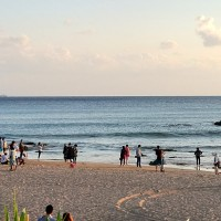 Beach town in south Taiwan sees hotel occupancy reach 80% amid coronavirus fears
