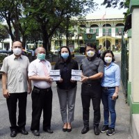 Taiwan groups donate face masks to Philippines
