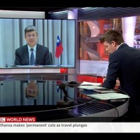 Taiwan vice president shares coronavirus response on BBC