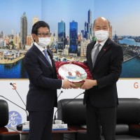 Kaohsiung mayor survives PR disaster at Mitsui event