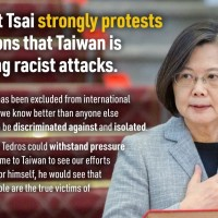 Tsai invites WHO head to visit Taiwan despite racist charges