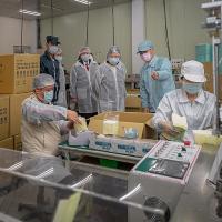 台灣拚口罩日產1500萬片 強調不是極限預留N95原料