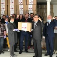 【武漢肺炎】台灣援助歐洲口罩、呼吸器等物資 陸續抵達波蘭、捷克、比利時、義大利與西班牙