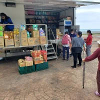 Mobile convenience stores pop up in remote areas around Taiwan