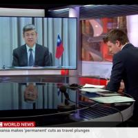 台灣副總統陳建仁登英國BBC 武漢肺炎防疫成功靠這三點