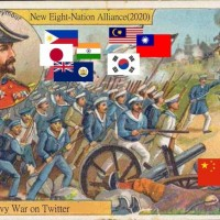 Photo of the Day: Taiwan joins Eight-Nation Alliance to crush China in Twitter war
