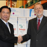 US protective clothing for coronavirus arrives in Taiwan