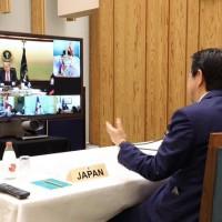 G7領袖共抗武漢肺炎力挺川普 要求世衛進行徹底變革