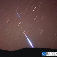 天琴座流星雨22日凌晨達極大期 21日起可透過「台北天文館影片頻道」欣賞