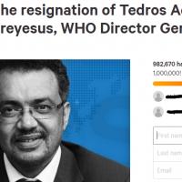 世衛秘書長譚德塞下台連署 籲台灣加入WHO破98萬