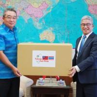 Taiwan donates 200,000 face masks to Thailand