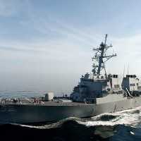 US destroyer transits Taiwan Strait for 2nd time in month