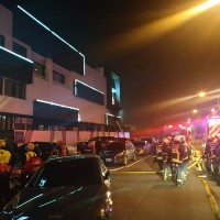 台中摩鐵警匪對峙!5嫌開槍還縱火 70房客驚慌疏散