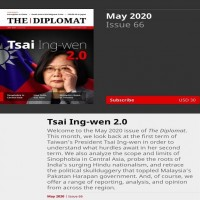 The Diplomat features Taiwanese president on cover
