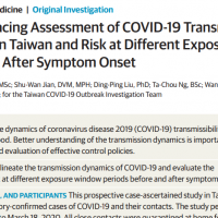 Taiwan's latest coronavirus findings published