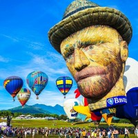 Taiwan's hot air balloon festival postponed but not deflated