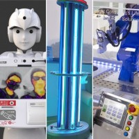 Made-in-Taiwan robots gear up to help beat coronavirus