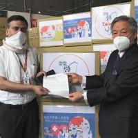Taiwan donates 1 million medical masks to India