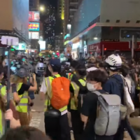 Numerous Hong Kongers reportedly detained during Mother's day protest