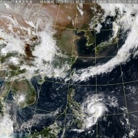 鋒面遠離各地多雲到晴 首颱黃蜂大小環流整合中