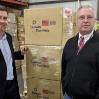 Taiwan donates 100,000 masks each to Iowa and Wisconsin