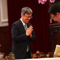Chen Chien-jen becomes Taiwan's first vice president to give up pension