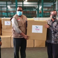 300,000 Made-in-Taiwan surgical masks arrive in Indonesia