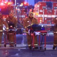 【突發新聞】美國加州洛杉磯市一建築起火爆炸 11消防員遭輕重傷