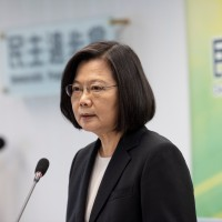 Tsai takes up duties as Democratic Progressive Party chair