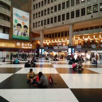 Taipei Main Station lobby ban not permanent, protesters face fines: Ministry