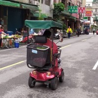 Taiwanese whizzing by on mobility scooters could soon face fines