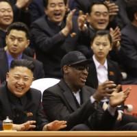 Dennis Rodman warns about Kim Jong Un's sister