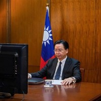 Foreign minister warns Taiwan is next on Chinese agenda