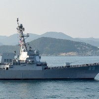 US navy ship sails near Paracel Islands