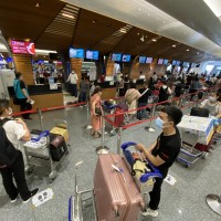 344 Vietnamese return home from Taiwan on charter flight