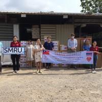 泰國臺僑胞聯合應變小組捐贈物資 協助泰緬邊境防疫