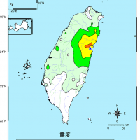 【快訊】晚間9時台灣發生規模4.8顯著有感地震 花蓮宜蘭震度最大