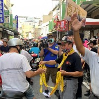 Anti-Han parade goes off without hitch in S. Taiwan