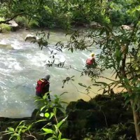 Father goes missing while rescuing daughter from river in New Taipei