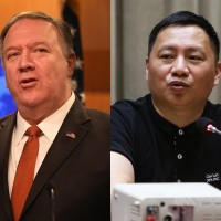 US Secretary of State Pompeo meets Tiananmen student leaders