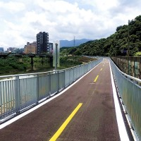 Bikeway project inaugurated to connect Taipei, New Taipei along Keelung River
