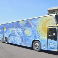 Buses in Taiwan's Pingtung County to feature famous paintings