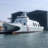 Taiwan's Coast Guard Administration showcases ship at Ocean Day exhibition