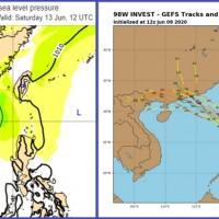 【更新】氣象專家吳德榮:熱帶擾動發展中 對台灣影響仍須持續觀察