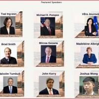 【演說全文】台灣蔡總統在丹麥「哥本哈根民主高峰會」發表演說 呼籲全球理念相近民主國家更密切合作