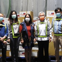Taiwan donates more masks, PPE to Philippines