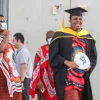 Son of eSwatini king receives master's degree in Taiwan