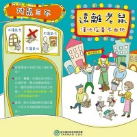 【當心鼠輩】台灣高雄市「漢他病毒」累計達5例創高峰 衛生局加強投藥滅鼠