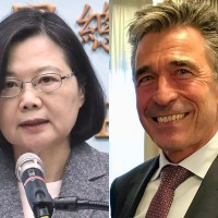 Former Danish PM invites Taiwan's president to democratic summit