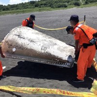 Suspected Chinese missile found on N. Taiwan beach